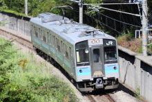 鉄道写真にチャレンジ!-1543M E127系 ナノA7編成