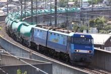 鉄道写真にチャレンジ!-2084レ EH200-1 + タキ