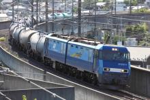 鉄道写真にチャレンジ!-5460レ EH200-2 + タキ