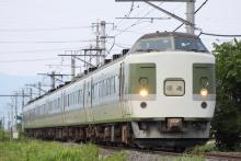 鉄道写真にチャレンジ!-回9458M 183・189系 ナノN101
