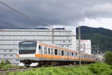 鉄道写真にチャレンジ!-回9733M ナイヤガラ733号 E233系 トタ青466