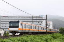 鉄道写真にチャレンジ!-回9615M ナイヤガラ615号 E233系 トタH56(6B)