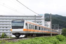 鉄道写真にチャレンジ!-9713M ナイヤガラ713号 E233系 トタ青663