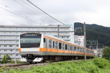 鉄道写真にチャレンジ!-9734M スターマイン734号 E233系 トタ青466