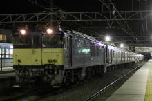 鉄道写真にチャレンジ!-配9233レ EF64-1030 + 211系10B