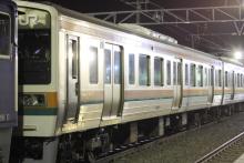 鉄道写真にチャレンジ!-211系チタN1 1号車
