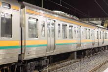 鉄道写真にチャレンジ!-211系チタN1 6号車