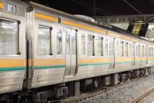 鉄道写真にチャレンジ!-211系チタN1 7号車