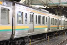 鉄道写真にチャレンジ!-211系チタN1 9号車
