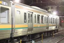 鉄道写真にチャレンジ!-211系チタN1 10号車