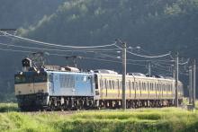 鉄道写真にチャレンジ!-配9432レ EF64-1030 + 211系6B