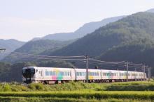 鉄道写真にチャレンジ!-2530M E257系 M113編成