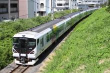 鉄道写真にチャレンジ!-60M E257系 M113編成