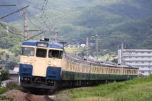 鉄道写真にチャレンジ!-回9451M 115系 トタM40編成