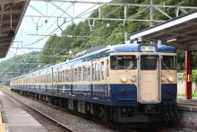 鉄道写真にチャレンジ!-9526M 115系 トタM40 新作花火臨