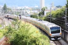 鉄道写真にチャレンジ!-回9601M E233系 トタH50編成(10B)