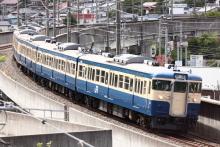 鉄道写真にチャレンジ!-列番不明 115系 トタM40編成