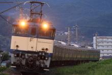 鉄道写真にチャレンジ!-配9433レ EF63-1031 + 211系タカB7(5B)