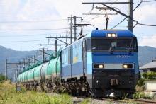 鉄道写真にチャレンジ!-2080レ EH200-4 + タキ
