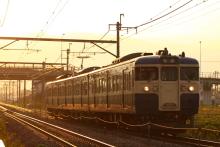 鉄道写真にチャレンジ!-321M 115系 トタM8