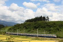 鉄道写真にチャレンジ!-438M 115系 八トタM40編成