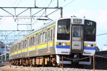 鉄道写真にチャレンジ!-試9564M 211系 ナノN304