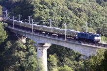 鉄道写真にチャレンジ!-211系マリ501+405配給輸送