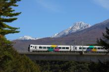鉄道写真にチャレンジ!-八ヶ岳とあずさ