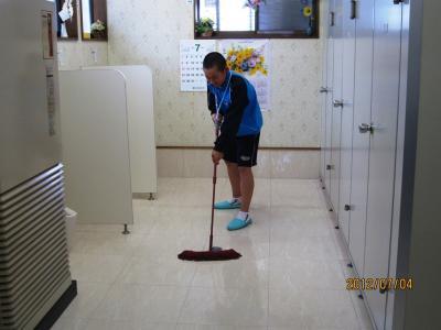 トイレ掃除⑦