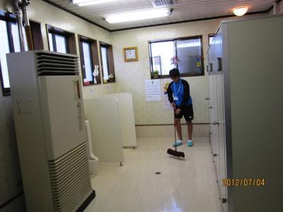 トイレ掃除③
