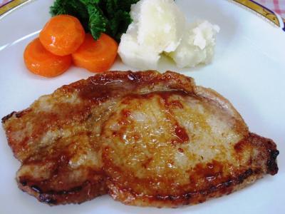 豚ロース肉の甘辛ステーキ1024×768
