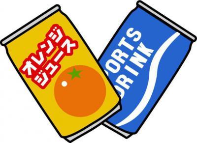 缶ジュースとスポーツドリンク②