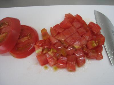 味どうらくトマトつけめん①