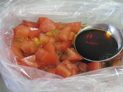 味どうらく.トマトつけめん②