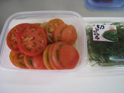 トマトのどうらく漬け②