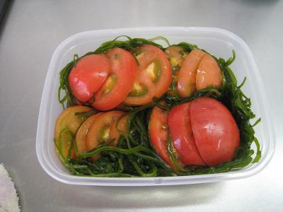トマトのどうらく漬け④