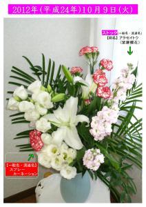 10月9日の花 (1)