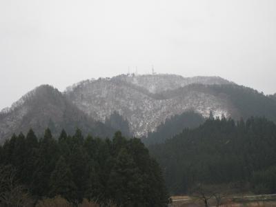 初冬嶽山①