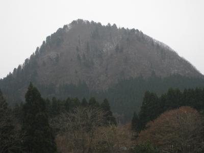 初冬嶽山②