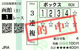 630函館1R
