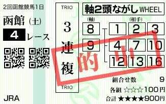 630函館4R