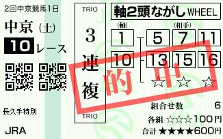 630中京10レース