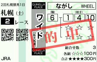 818札幌2R