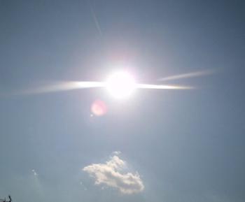 良いお天気!