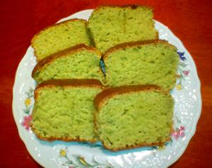 初オーブンで抹茶パウンドケーキ