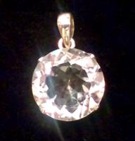 水晶ペンダントトップ