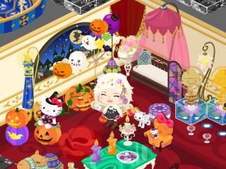 お部屋もハロウィン!