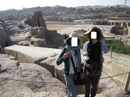 エジプト旅行:切りかけのオベリスク