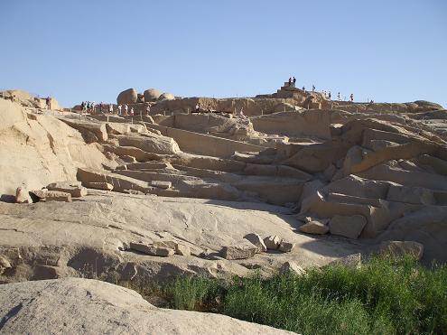 エジプト旅行:切りかけのオベリスク③