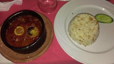 0212 夕食 タジン
